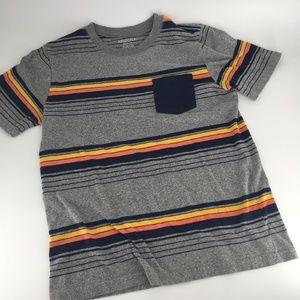 Arizona striped pocket t-shirt youth M 10/12